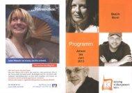 Programm 1. Halbjahr 2013 - Kolping-Bildungswerk ...