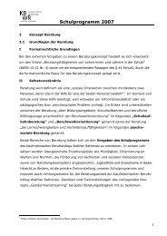 Schulprogramm 2007 - Kaufmännisches Berufskolleg Walther ...