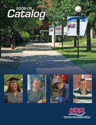 Catalog - Kankakee Community College