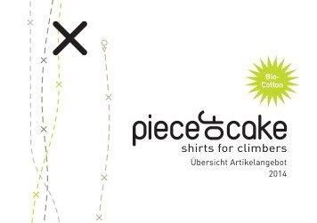 Piece of Cake - Artikelübersicht 03/2014