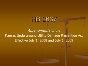 HB 2637 - Kansas Corporation Commission