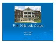 Flint Hills Job Corps - Kansas Corporation Commission