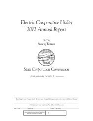 Electric Cooperative Utility Annual Report Form (pdf format)