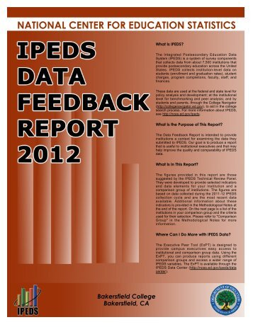 BC IPEDS Feedback Report 2012.pdf - Kern Community College ...