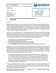 COVER LETTER Acknowledgement of Addendums and ... - KCDA