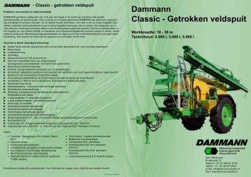 Classic - Getrokken veldspuit - Dammann