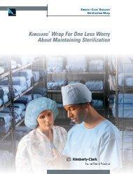 KIMBERLY-CLARK* KIMGUARD* Sterilization Wrap product brochure