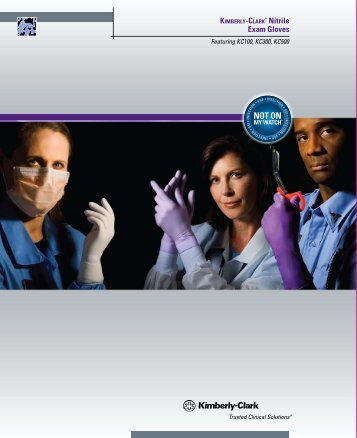 P Nitrile Exam Gloves - Kimberly-Clark Health Care