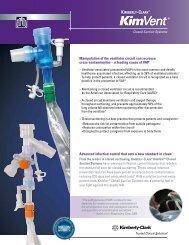 KIMVENT* Closed Suction Systems Brochure - Kimberly-Clark ...