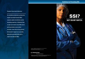 Guidelines for Preventing SSI's - Kimberly-Clark Health Care
