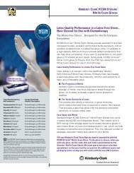Nitrile Exam Gloves Latex-Quality Performance in a Latex-Free ...