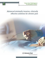 Radiofrequency Pain Management System - Kimberly-Clark Health ...