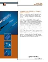 Endoscopy Devices. - Kimberly-Clark Health Care