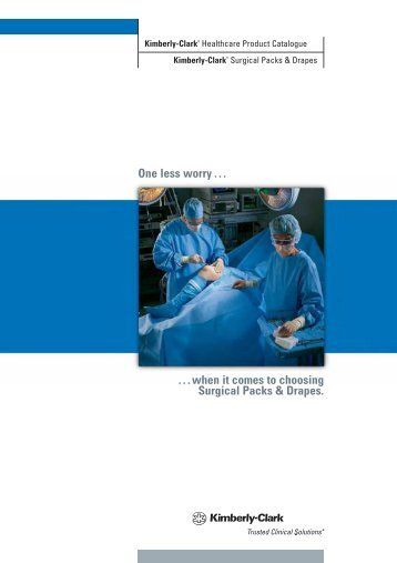 Surgical Packs & Drapes - Kimberly-Clark Health Care