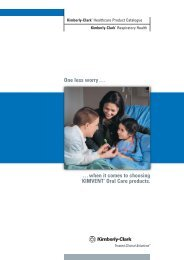 Title Page:Layout 1 - Kimberly-Clark Health Care