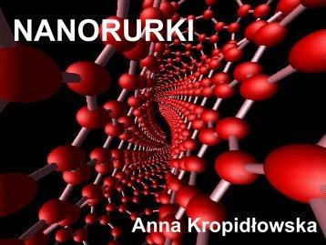 Nanorurki, prezentacja cz. 2