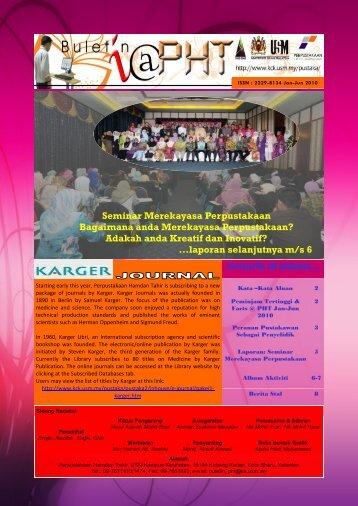 seminar merekayasa perpustakaan - USM Kampus Kesihatan