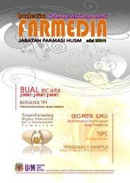 Farmedia Edisi 3 - Kampus Kesihatan - USM