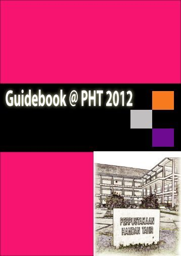 Guidebook @ PHT 2012