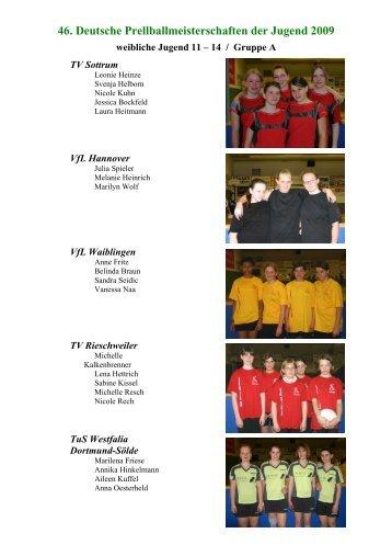 Spielberichte weibliche Jugend 11-14 - Tus Concordia Hülsede