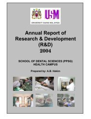 Annual Report of Research & Development (R&D) 2004