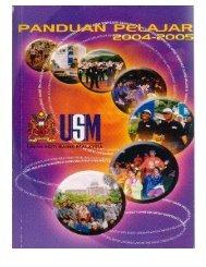 5. Buku Panduan Hal Ehwal Pelajar - Kampus Kesihatan - USM