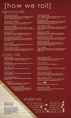 View Our Sushi Menu - Page 3
