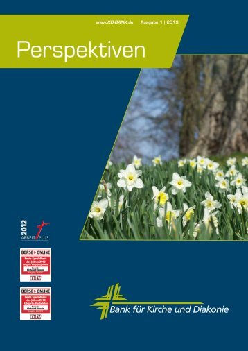 Perspektiven Ausgabe 1/2013.pdf - KD-Bank