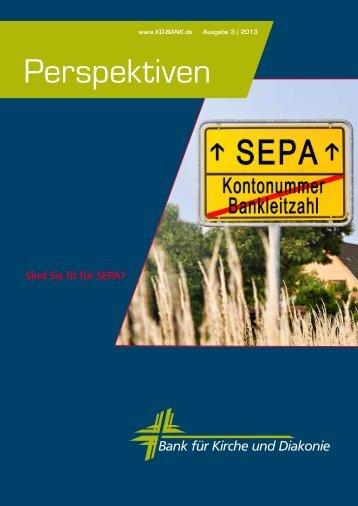Perspektiven Ausgabe 3/2013.pdf - KD-Bank