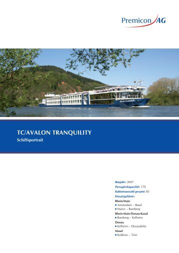 TC/AVALON TrANQUILITY