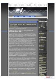 Technologiewerte.de, 28.11.2012 - Universität Kassel
