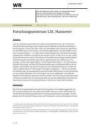 Hintergrundinformationen zum Forschungszentrum L3S der Leibniz ...