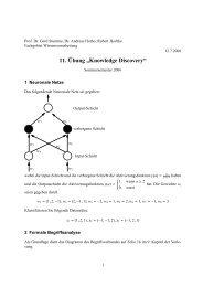 ung 11 - Fachgebiet Wissensverarbeitung