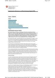 Page 1 of 4 EDÖB - datum - 02/2010 18.11.2010 http://www.edoeb ...