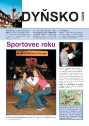 Kdyňsko 2005_1.indd - Sdružení obcí Kdyňsko
