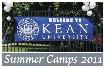 Summer Camps 2011 - Kean University