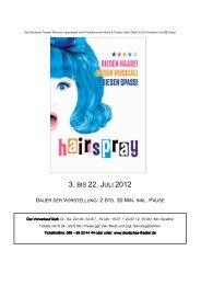 hairspray - Deutsches Theater