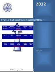 Enrollment Management Plan - Kean University