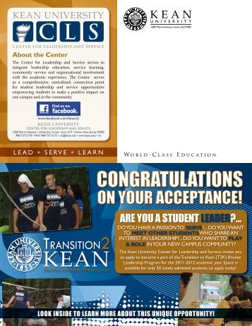 CONGRATULATIONS - Kean University