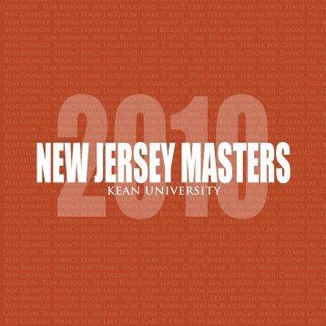 NJ Masters 2010_fweb.+ - Kean University