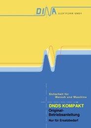 Originalbetriebsanleitung DNDS Kompakt - DINA Elektronik Gmbh