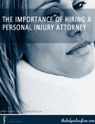 The Importance of Hiring A Personal Injury Attorney