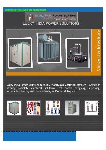 Lucky India Power Solutions - KEC International