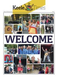Keele TImes Issue 5 - Keele University