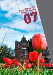 2007 Annual Review - Keele University