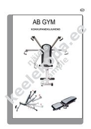 Raleigh AB Home Gym treeningupink