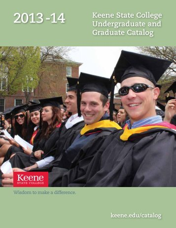 Keene State College Undergraduate and Graduate Catalog