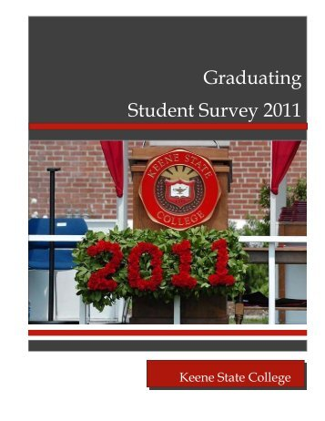 Graduating Student Survey 2011 report - Keene State College