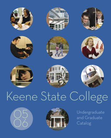 KSC Catalog 2005-06 - Keene State College