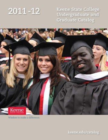 KSC Catalog 2011-12 - Keene State College